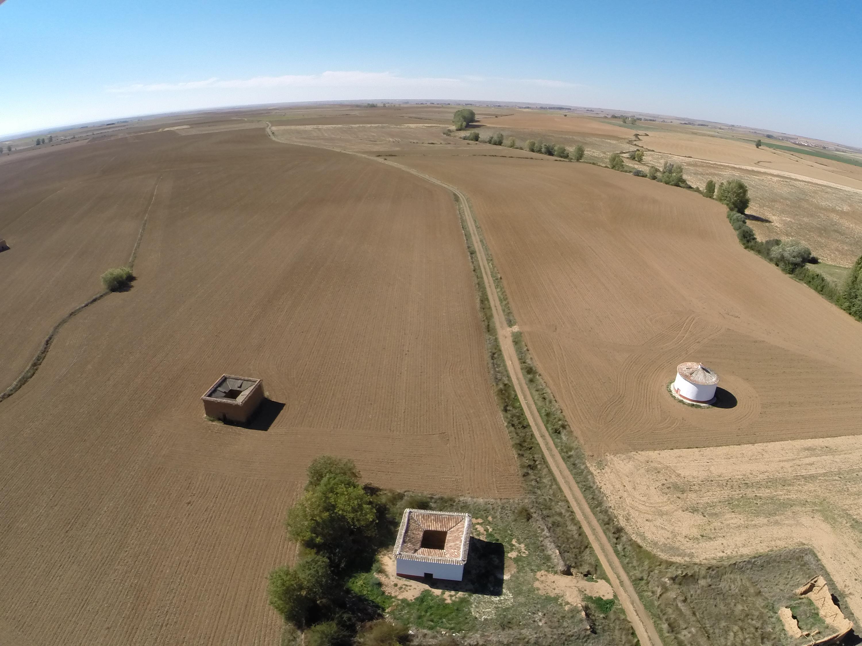 Galería fotográfica aérea de Quintanilla de la Cueza