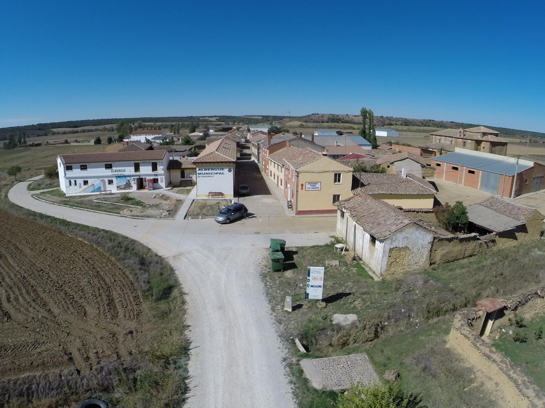 Galeria fotográfica aérea de Calzadilla de la Cueza