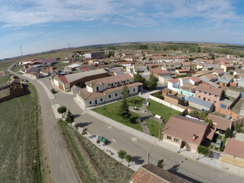 Galería fotográfica aérea de  Cervatos de la Cueza