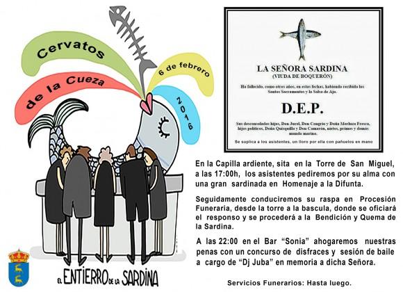 web entierro sardina 2016