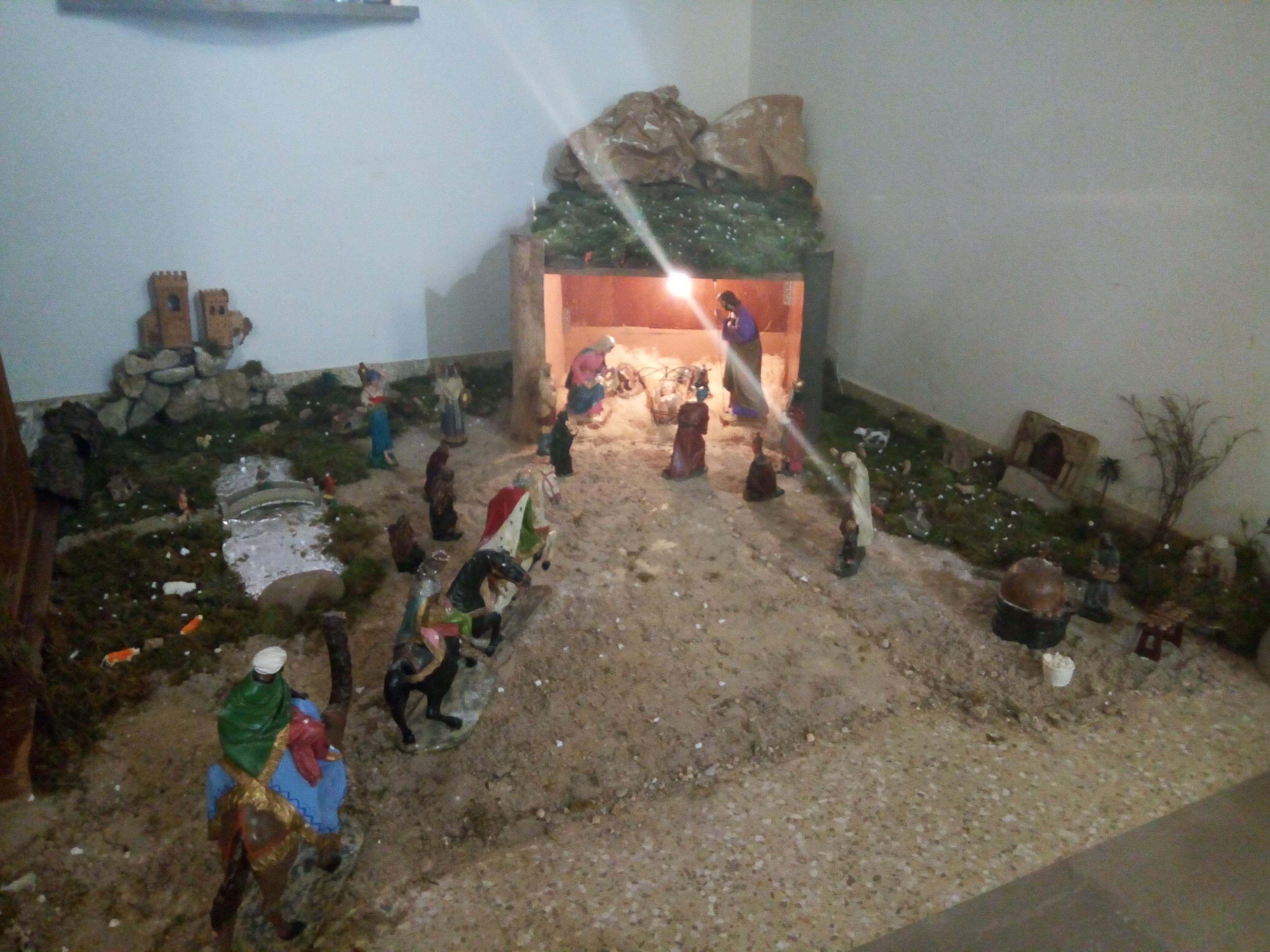 Belén Ayuntamiento y Belén Iglesia, «San Miguel y Santa Columba»