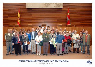 1 Foto de la visita de vecinos de Cervatos de la Cueza